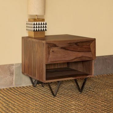 Metric Bedside Table