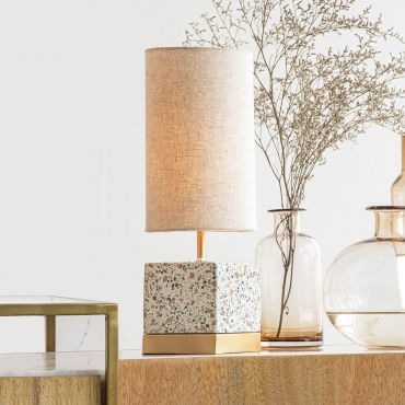 Speckle Table Lamp Square